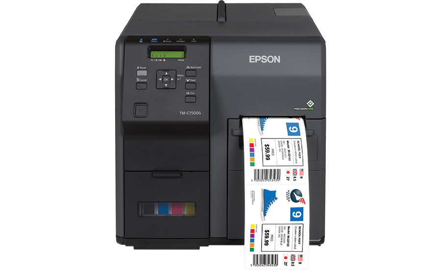 Epson to showcase full line-up of on-demand label printers