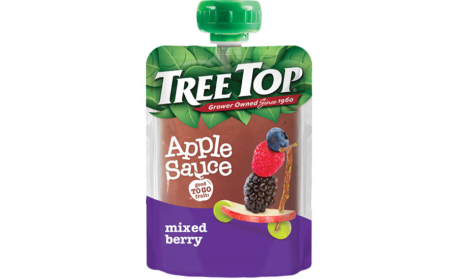 Tree Top see-through pouches