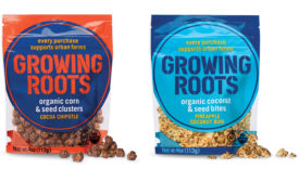 Unilever organic snack line Growing Roots