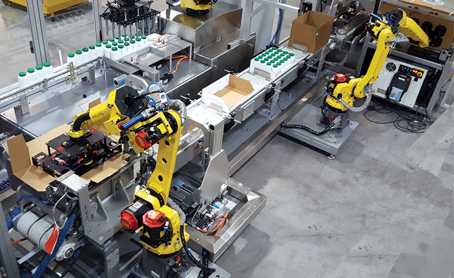 Robotic Tray Packer Designed for Display Trays