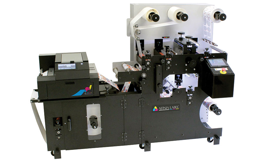 The Afinia Label DLP-2100 digital label press