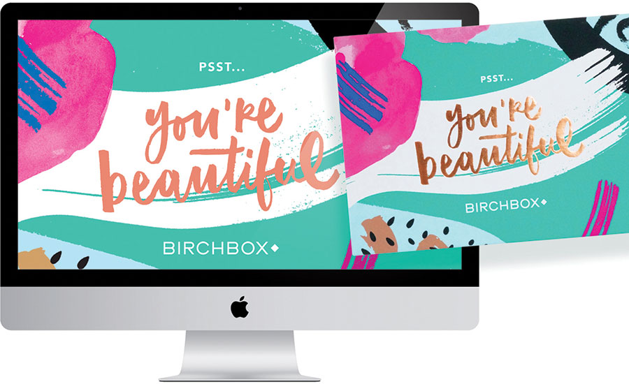 Birchbox Design Packaging