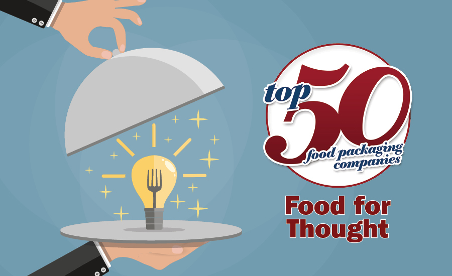 Top 50 Food Packaging Companies of 2018