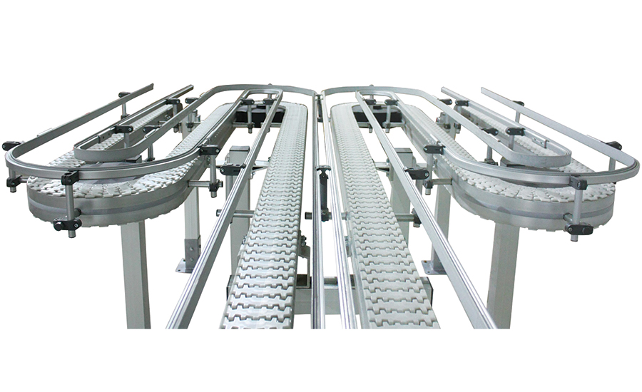 Flexible Conveyor Platform Moves in Various Ways