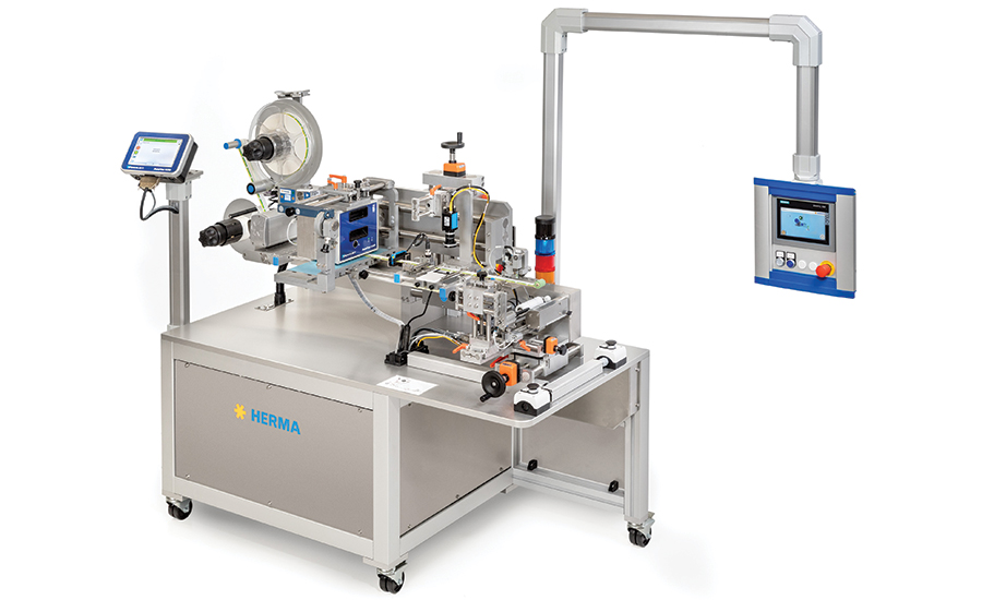 Compact Labeler Designed for Pharma Industry