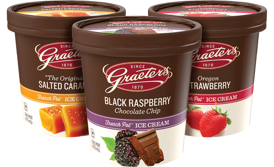 Graeter's new ice cream pint package design