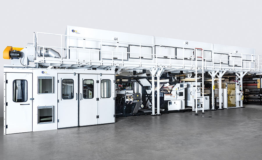 linerless press from ETI Converting Equipment