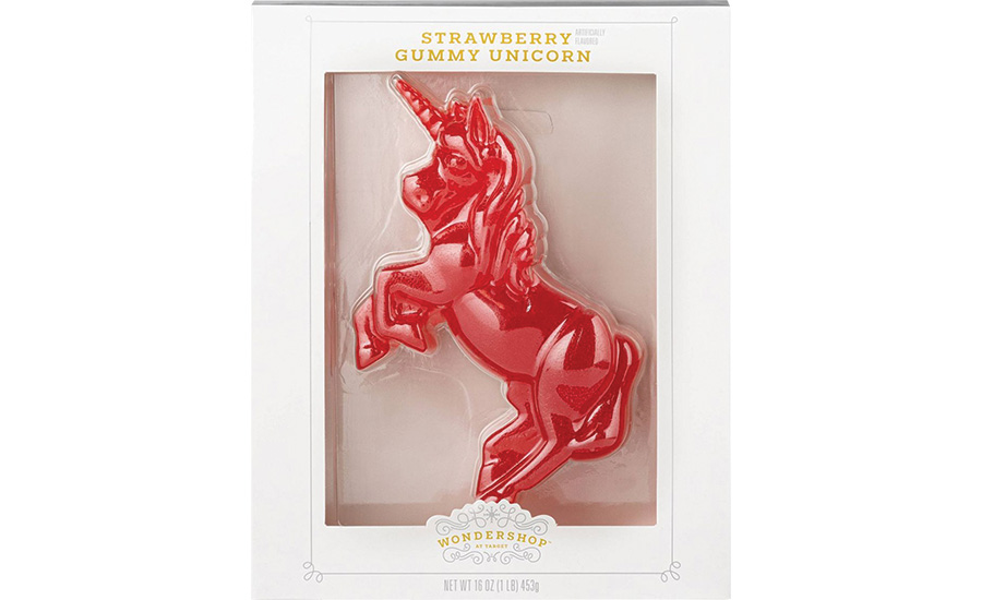 Holiday Giant Unicorn Gummy