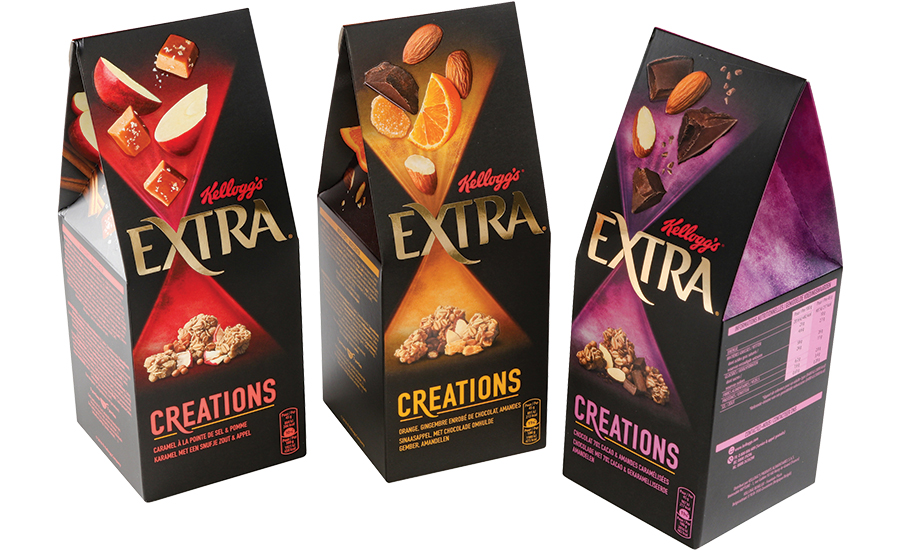 Kellogs EXTRA Graphic Packaging International