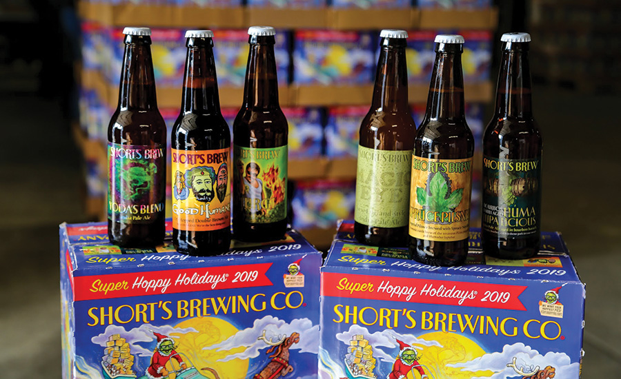 The 2019 holiday craft microbrew packaging