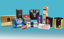 Paperboard packaging sustainable, recyclable construction