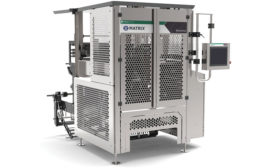 The Morpheus vertical form, fill & seal machine from Matrix