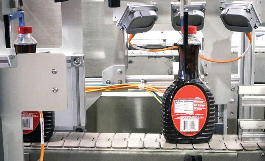 Automated Inspection Protects Brand Quality for Syrup Manufacturer