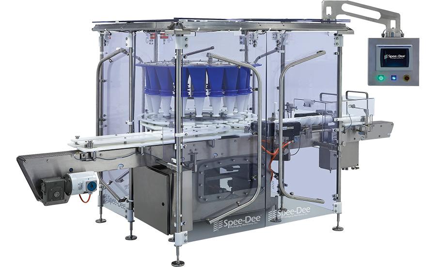 Spee-Dee's rotary powder filling machines