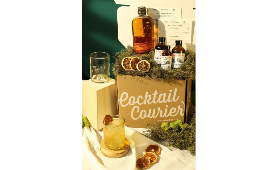 Bulleit Frontier Whiskey Eco-friendly Earth Day Cocktail Kit