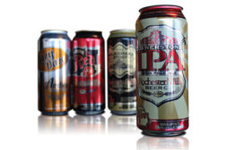 Rochester Mills Production brewery cans its craft beer