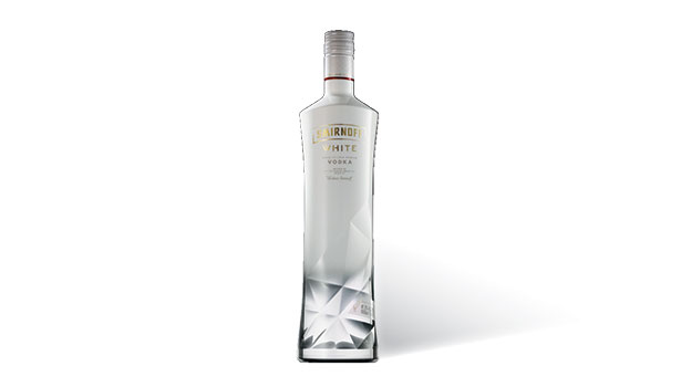 alcohol packaging,  Smirnoff white
