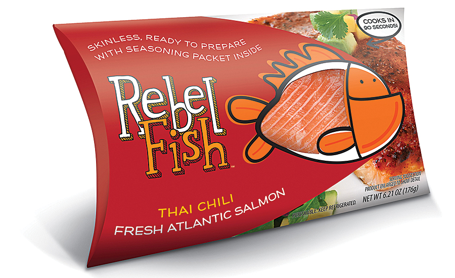 Rebel Fish fillets are convenient, healthy and tasty single-serve meals