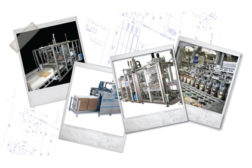 Polaroids of machinery, case packing