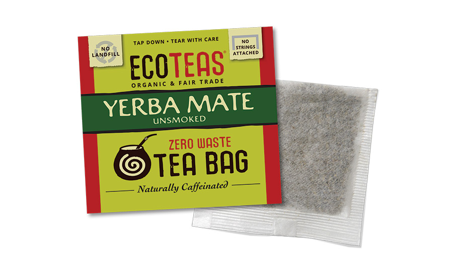 ECOTEAS package made from compostable and recyclable materials