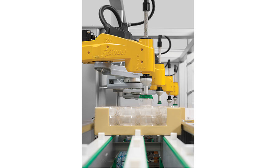 Industrial robots increase product quality
