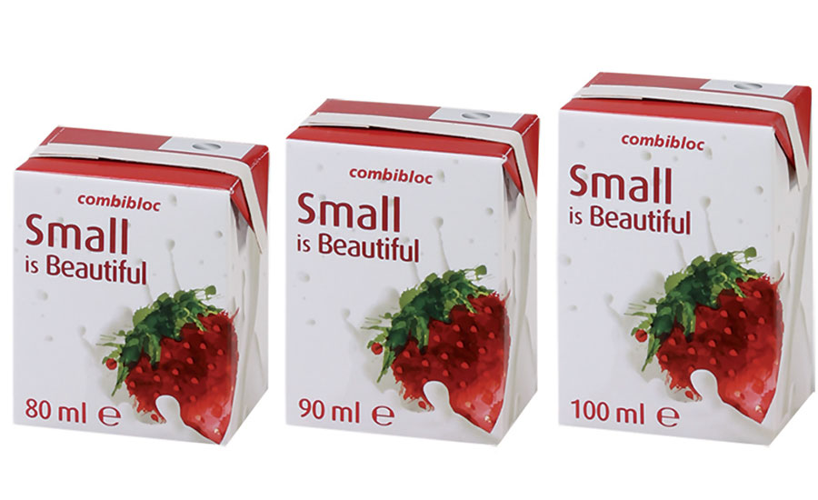 Small is Beautiful carton packs
