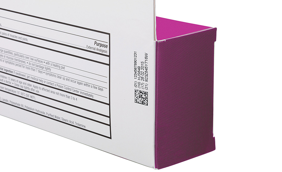 Pharmaceutical manufacturers have wide-ranging marking and printing requirements for cartons