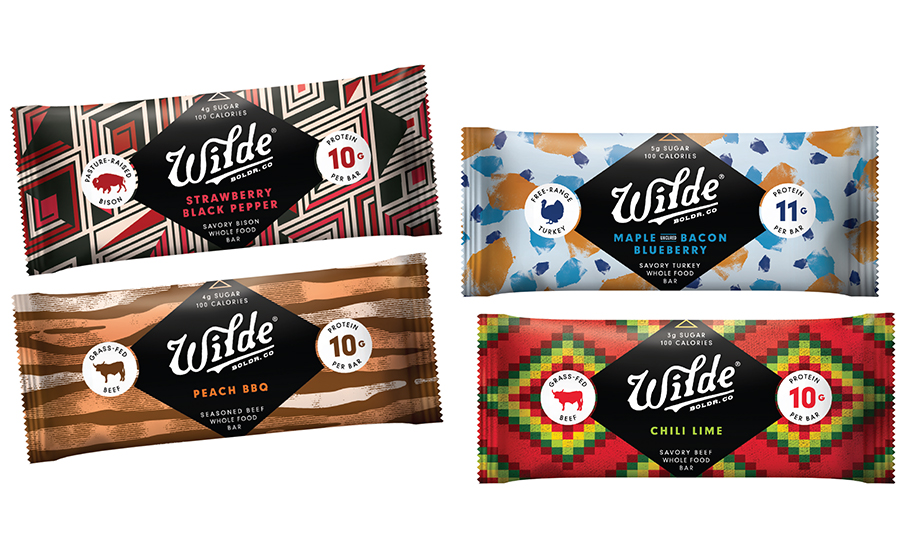 Wilde Snacks whole-food, savory protein bars