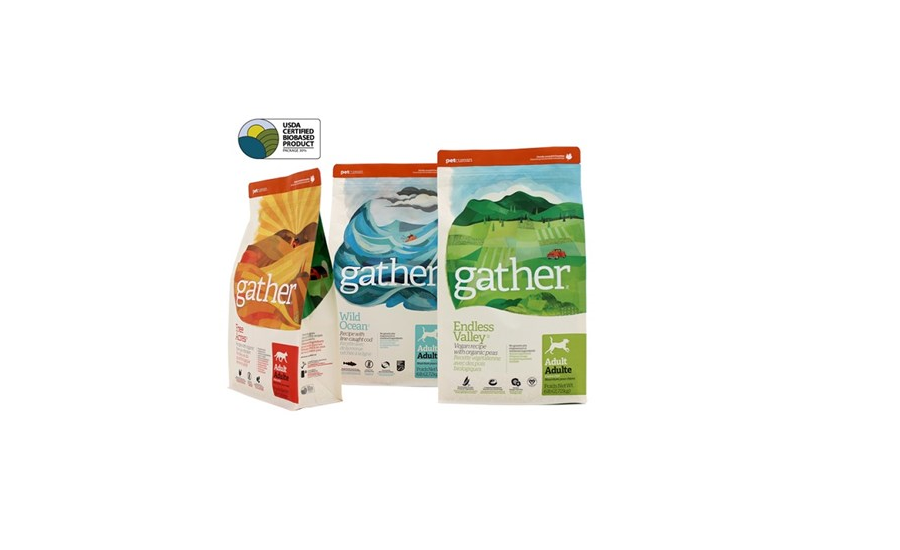 gather dog food