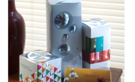 Radial Fresnel Effect Catches Eyes on Packaging