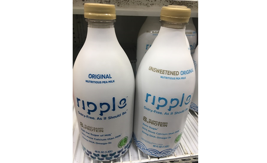 Plant-Based Dairy Alternatives Gaining Ground on Traditional Dairy Beverages