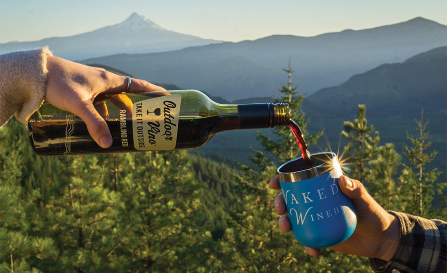 Plastic Is Fantastic For Adventure-Ready Wine Brand