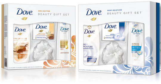 dove gift sets feature