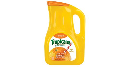 Tropicana package design
