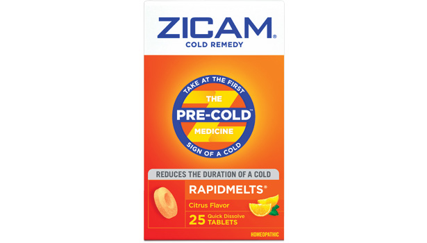 zicam boxes packaging cold