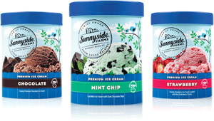 sunnyside ice cream mint chocolate strawberry