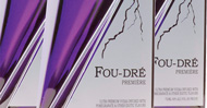 fou dre vodka packaging