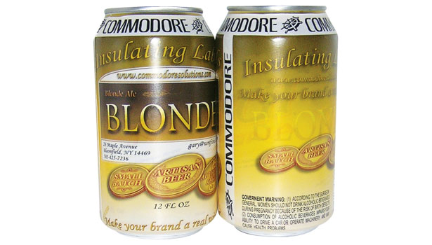 commodore, blonde beer