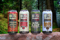 Big wood beer in cans