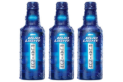 Bud Light Aluminum Bottle Feature