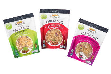 Select Organic Granola Pouches