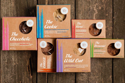 Artisan cookies relaunch in artistic package design