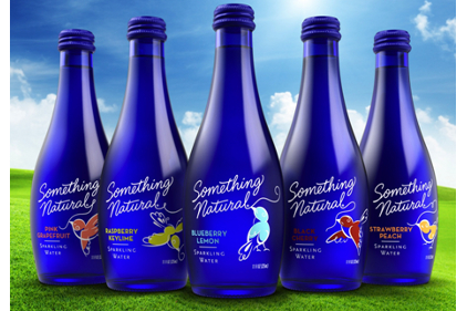 Something Natural Sparkling Water New Look