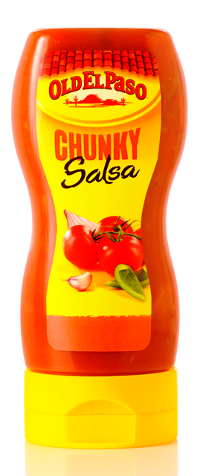 Old El Paso toppings debut in squeezable bottle