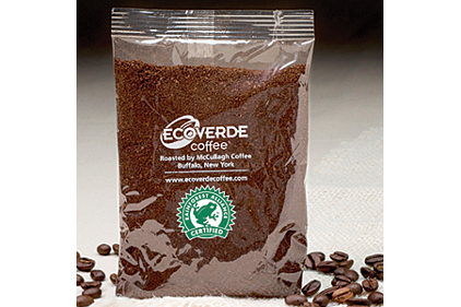 Compostable coffee package feature
