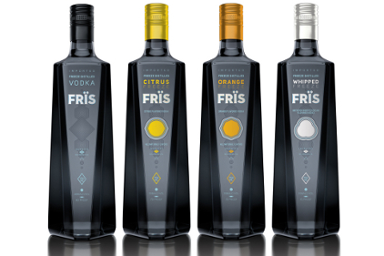 Fris Vodka redesign wins awards