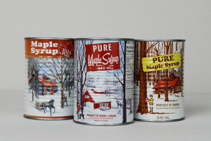 42024403b27 Iconic maple syrup brand gets edge from metal packaging. Partnership with  Crown helps boost Dominion   Grimm s Business. Maple syrup can