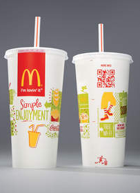 McDonalds adds QR codes to packaging for easy access to brand stories and nutrition
