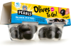 Single serve snacking olives