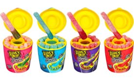 introduced Juicy Drop Gummy Dip N Stix
